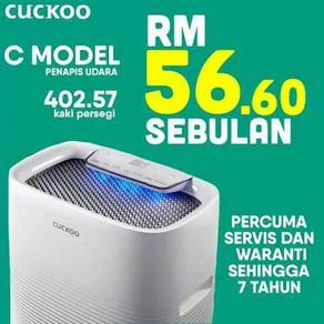 Penapis udara last week offer cuckoo zero deposit