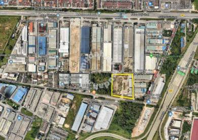 1.5 ekar warehouse factory klang port north west kapar meru