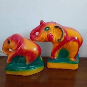 EEQ tabung gajah antik elephant piggy bank