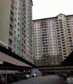 Lakeview Apartment Batu Caves Gombak 870sqft Corner Lot 100% FULL LOAN