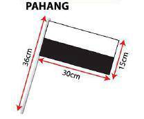 D - Hand Hold Flag with Stick (Pahang)