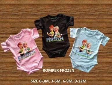 Style Charming BabyFrozen Romper