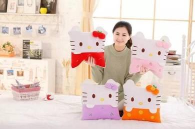 Hello Kitty Bantal Selimut/ Pillow Blanket (2in1)