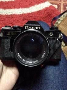 Canon AE-1 con 7/10 single set