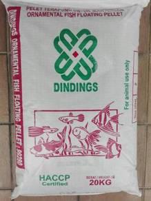 Dindings 928 Ornamental Floating Fish Fed 2mm 20kg