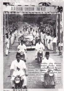 Miniature Sheet Merdeka 46th Malaysia 2003