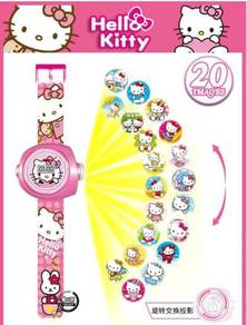 3D Digital Projection Watch - HELLO KITTY