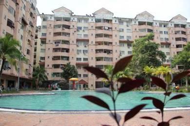 Perdana villa apartment 15 % bawah harga pasaran dapat tunai 30K