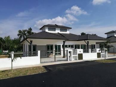 PEMAJU FULL Loan+20K CashBack SEMI D 4R2B 0 Legal FREEHOLD Pulau Indah