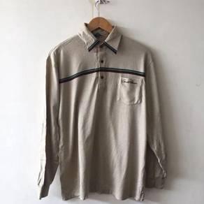 Vintage Arnold Palmer Brown Shirt Size LL