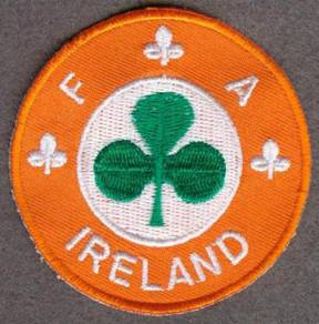 1980 - 1990 Ireland Football EMBROIDERED Patch