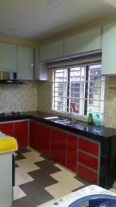 Aluminium kitchen kabinet