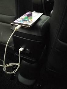 Honda brv usb arm rest console box