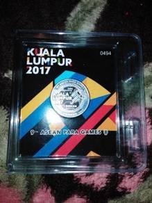 2017 KL Asean Para Game Dirham Silver