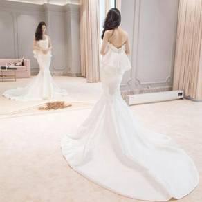 White Wedding Bridal Prom Dress Gown RB0763