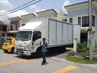 Sewa Lori Pindah Rumah Movers Transport Tailgate