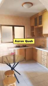 Taman Pekaka Block31A Partial Furnished Affordable Rent near USM Tesco