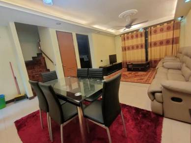 [CANTIK&RENO&Furnished] 2 Storey Townhouse Cyberia Smarthomes Townvill