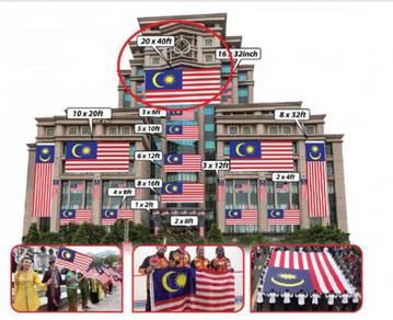 D - Bendera Malaysia 20x40ft
