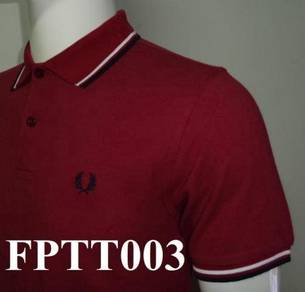 Fred Perry Twin Tipped Polo - CODE FPTT003