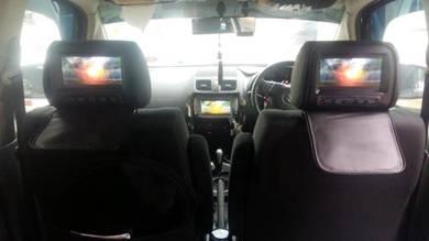 Headrest monitor seat screen kereta monitor screen