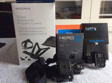 GoPro Hero 5 Session with Accessories