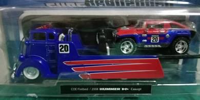 COE Flatbed + 2008 Hummer HX Concept