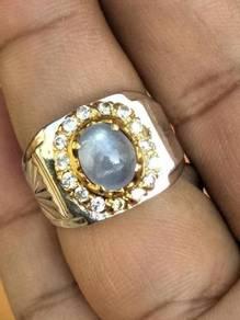Cincin Nilam Ceylon Sapphire NC9