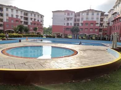 Taman Tan Sri Yacoob Rumah Flat 100% full Loan