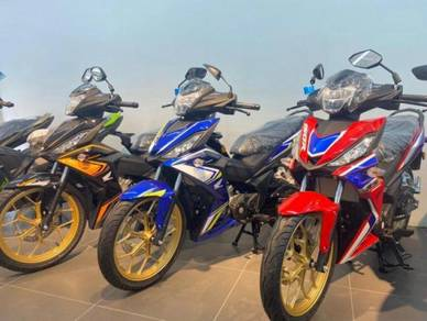Honda rs150 (cny promo low deposit )