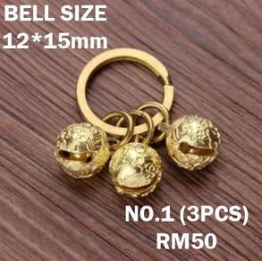Small Bell Keychain Pure Copper | Keychain Tembaga