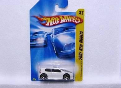 Hotwheels 2007 Volkswagen Golf GTI #27 White