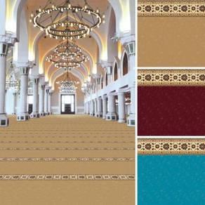Karpet masjid dan surau karpet corak menarik utara