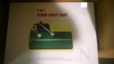 3 in 1 Golf Turn Shot Mat