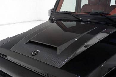 Mercedes W463 G Class Brabus Carbon Fiber Hood Kit