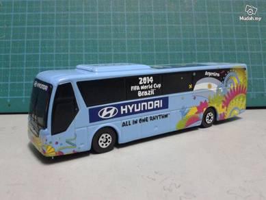 2014 FIFA Argentina Team Bus