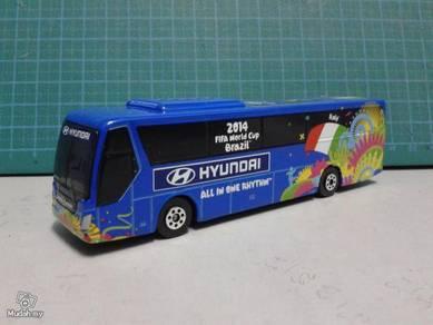 2014 FIFA Italy Team Bus