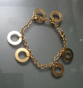ABBGM-W001 Washer Gold Metal Chain Bracelet