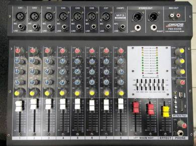 Mixer PA System Set Complete