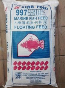 Star Feed 997 Marine Fish Floating Feed 20kg