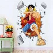One piece water proof laser printing Wall Sticker