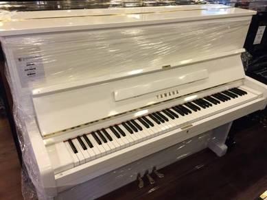Yamaha Upright Piano U1E White Imported Japan