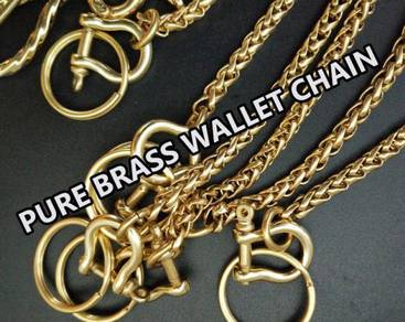 Pure Copper Wallet Chain II | Rantai Wallet