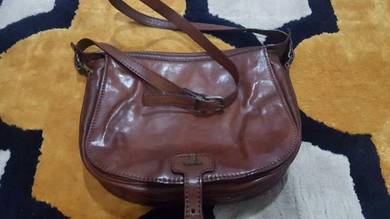 Handbag bonia leather