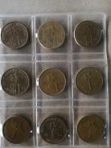 RM1 coin set 1989-1996