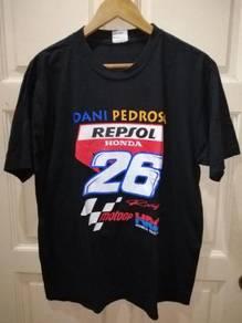 Dani Pedrosa Repsol Honda MotoGP Polo T Shirt L