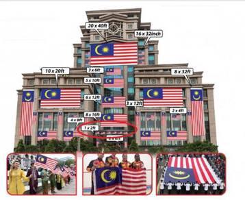 D - Bendera Malaysia 1x2ft