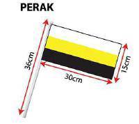 D - Hand Hold Flag with Stick (Perak)