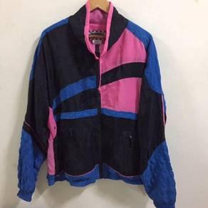 Saturdays Colourfull Nylon Jacket Size L hip hop