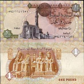 EGYPT 1 POUNDS 2007-111 P NEW unc